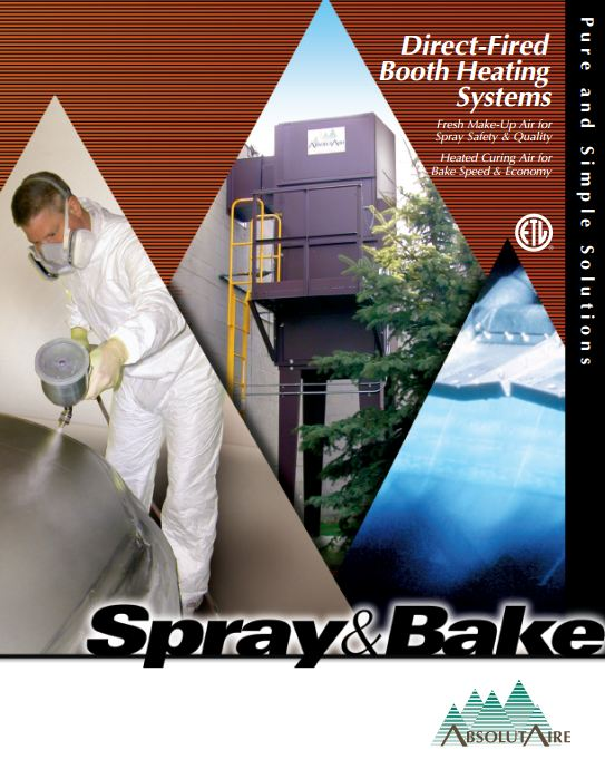 Spray & Bake Brocure